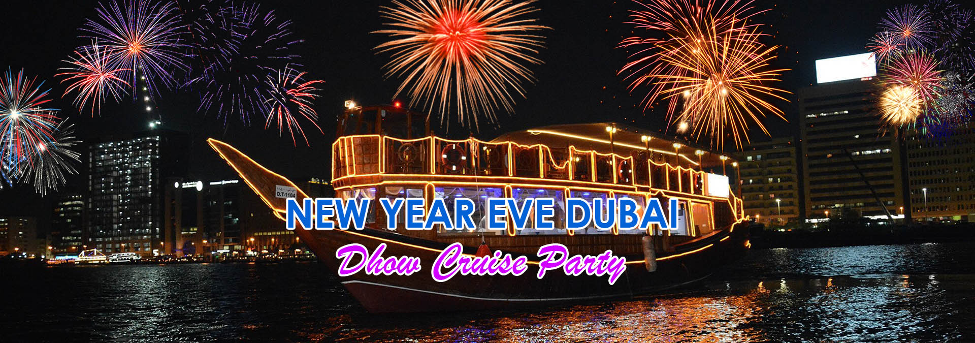 Cake New Years Eve 2018 : New Year s Eve Cruise Party Dubai 2018 with Dubai ...