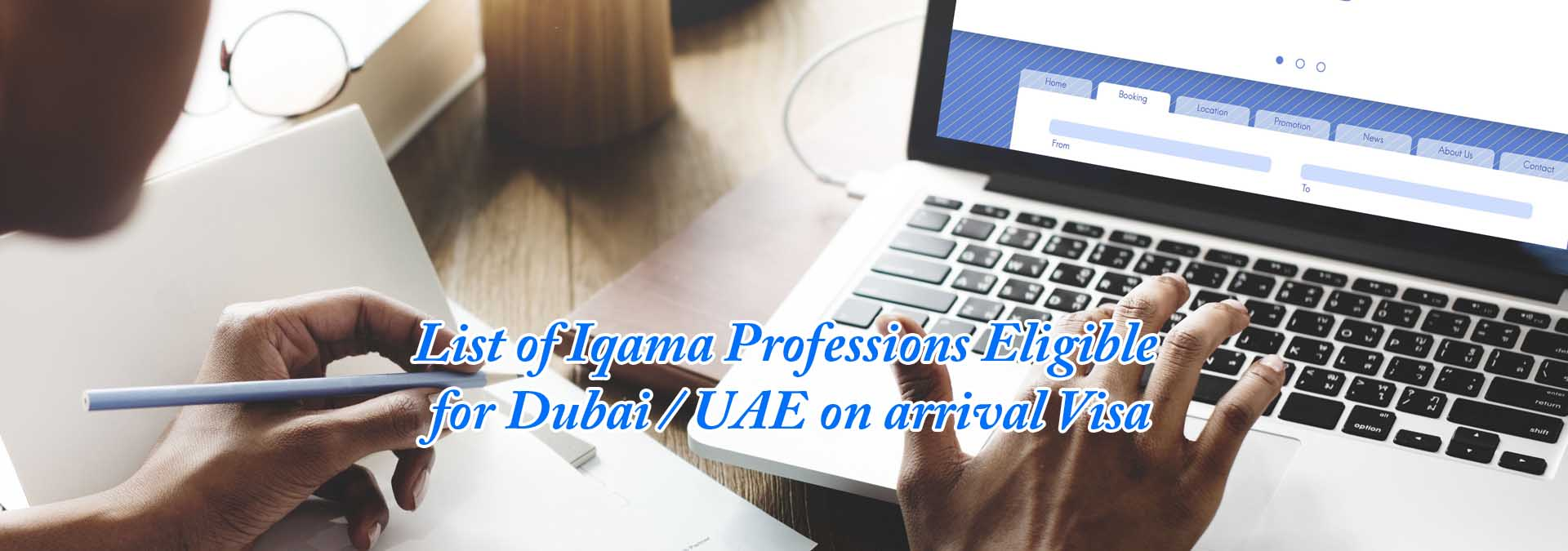 List of Iqama Professions Eligible for Dubai / UAE on