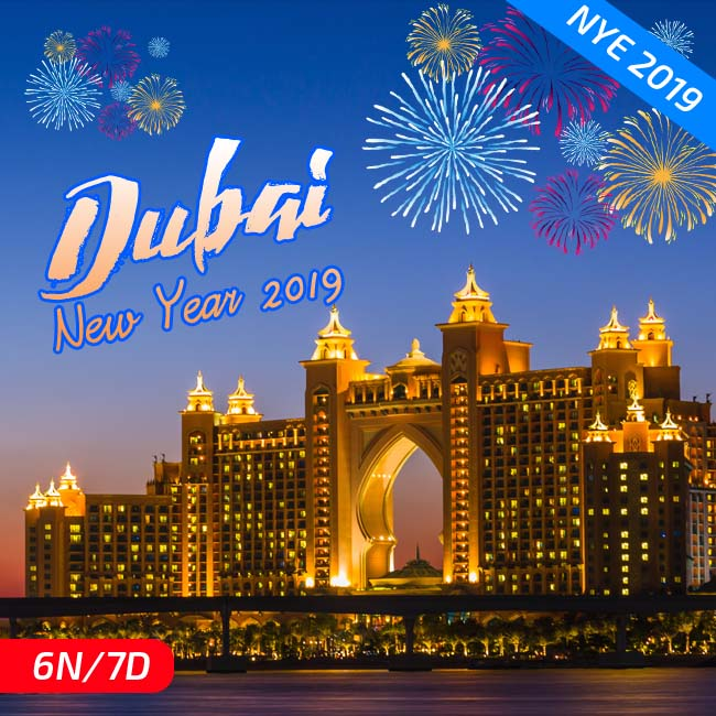 New Year Dubai Packages 2019