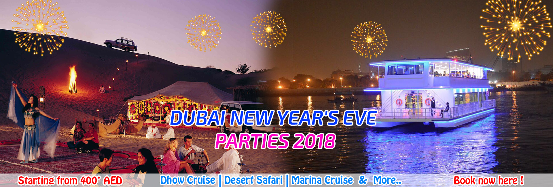 Dubai New Year 2018 Offers
