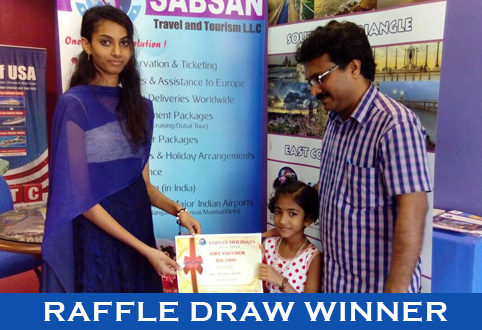 Sabsan Holidays Raffle Draw Winner !