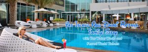 Yas Island Abu Dhabi Rotana Family Stay with Yas Water World and Ferrari World Tickets