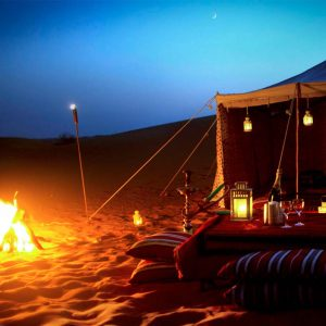 Overnight Desert Safari Camping