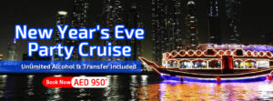 New Year's Eve Cruise Party Dubai 2018