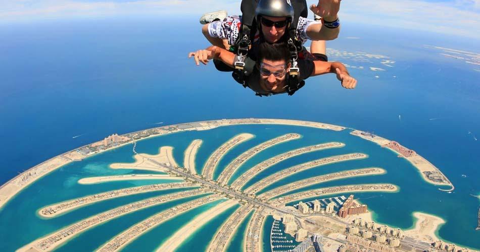Palm Jumeirah Sky Dive