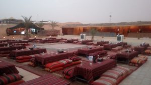 Overnight Desert Safari Camping