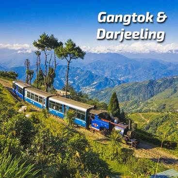 gangtok and darjeeling