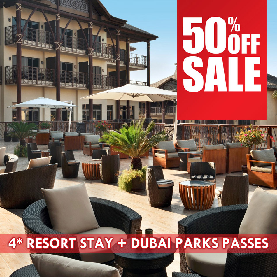 Lapita 4* Resort Stay+Dubai Parks Passes