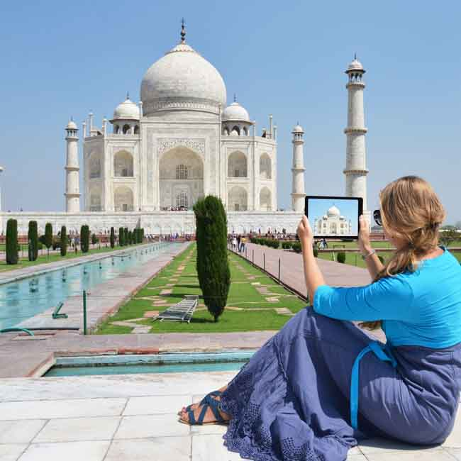 Golden Triangle Tour from UAE
