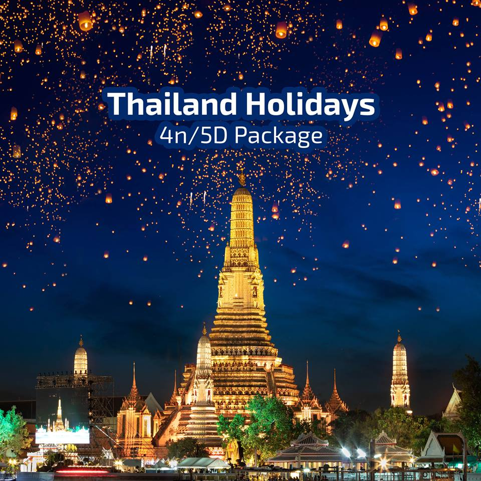 Thailand Tour Package from Dubai