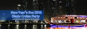Dubai New Year's Eve Dhow Cruise Party 2018
