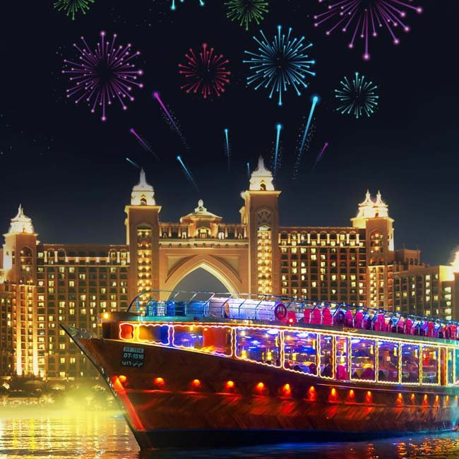 dubai marina new year cruise
