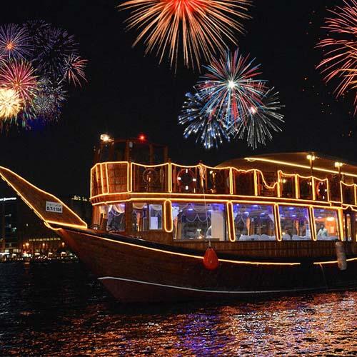 dubai new years eve dinner cruises