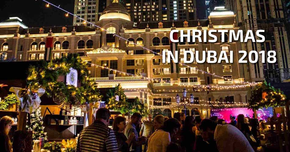 christmas in dubai 2018