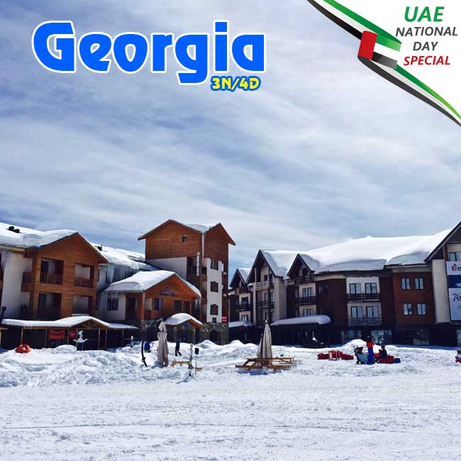 Georgia Holiday Package from Dubai