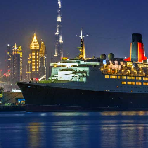 Queen Elizabeth 2 Hotel Stay