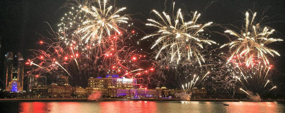 New Year Eve Cruise Abu Dhabi 2021 | NYE Dhow Cruise Dinner Party