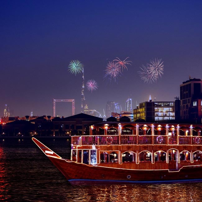 dubai new years eve 2020 cruise