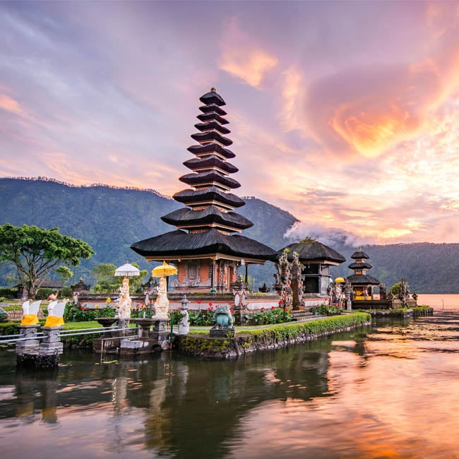 Bali Tour Package from Dubai