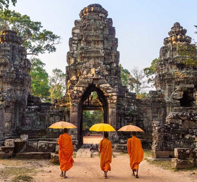 Cambodia tour package from Dubai