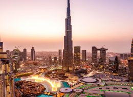 Burj Khalifa at the top tickets