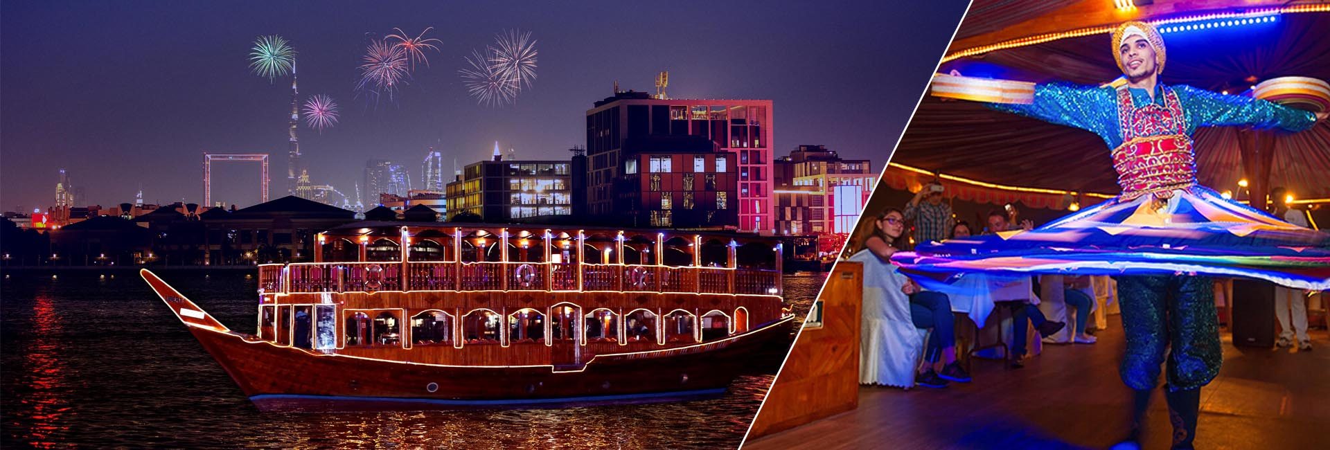 Dubai New Year's Eve 2021 Cruise | Boat Party New Years Eve Dubai