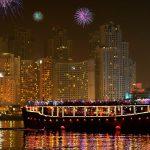 Dubai new years eve cruise